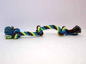 Multi-Colored Tug Rope Dog Toy