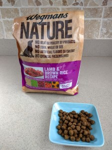 Wegmans Nature brand grain-free dog food