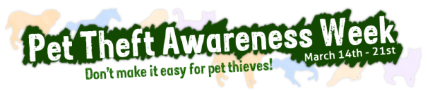 Pet Theft Awareness Week Header