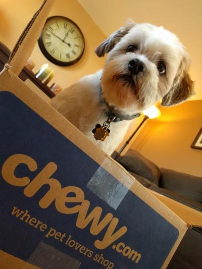 I tried Chewy.com