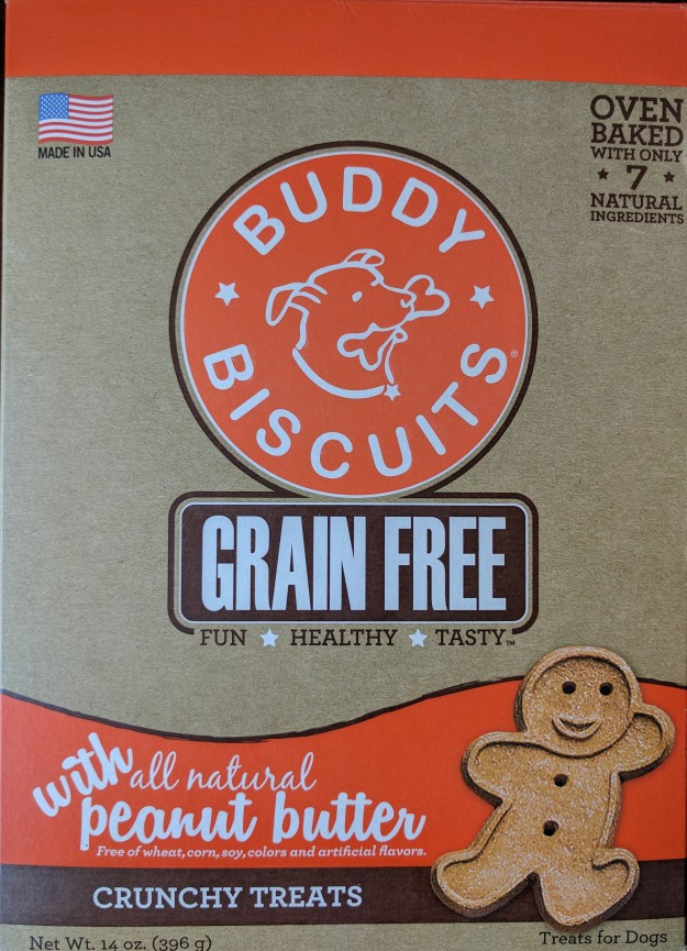 Buddy Biscuit box front