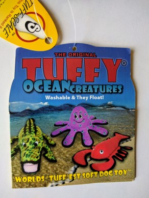 Tuffy Ocean Creatures Lobster tag
