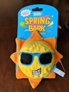 BarkBox toy from Target