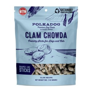 Polka Dog Bakery Clam Chowda Dog Treats