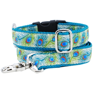 2 Hounds Design Paradise Cream Martingale collar