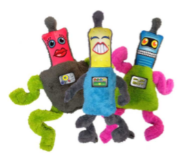 Cycle Dog Duraplush toys
