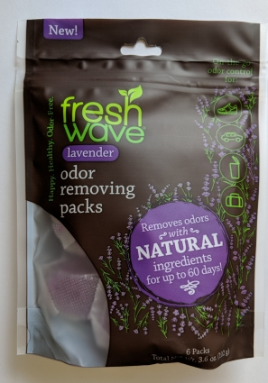 Fresh Wave Lavender Odor Removing Packs packaging